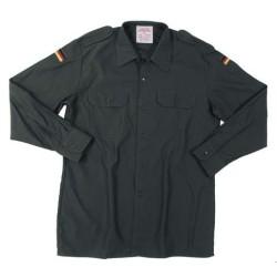 BW field shirt, OD green