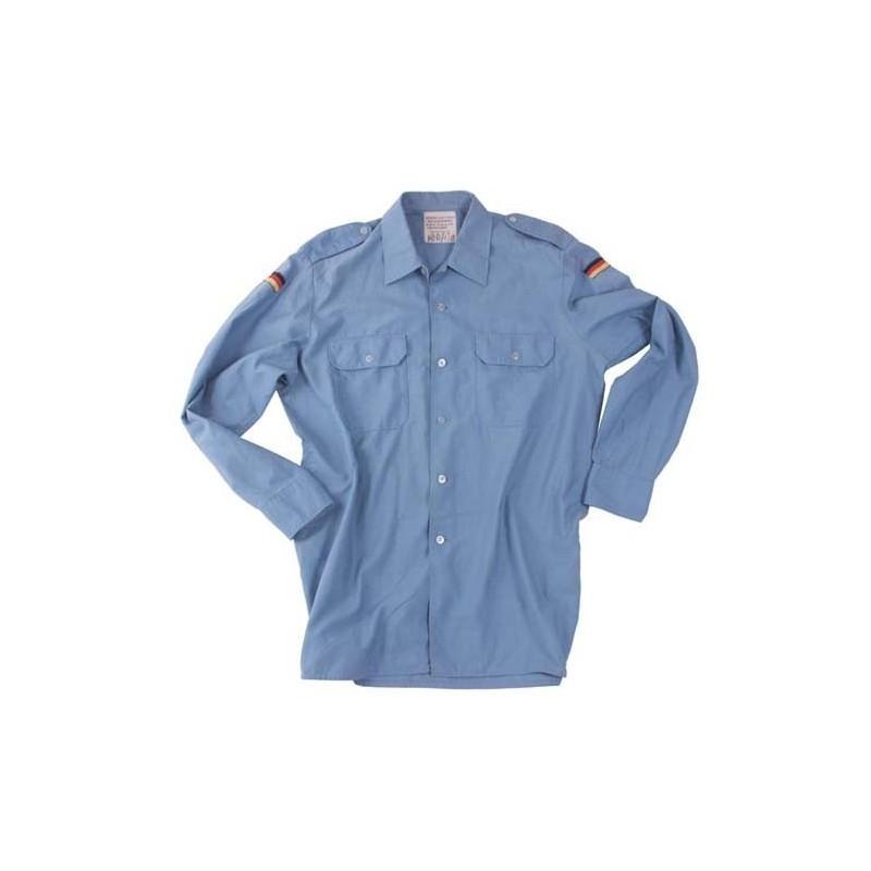 BW темно рубашка, голубой