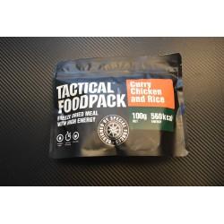 Tactical Foodpack Kanakarri riisiga, 100g