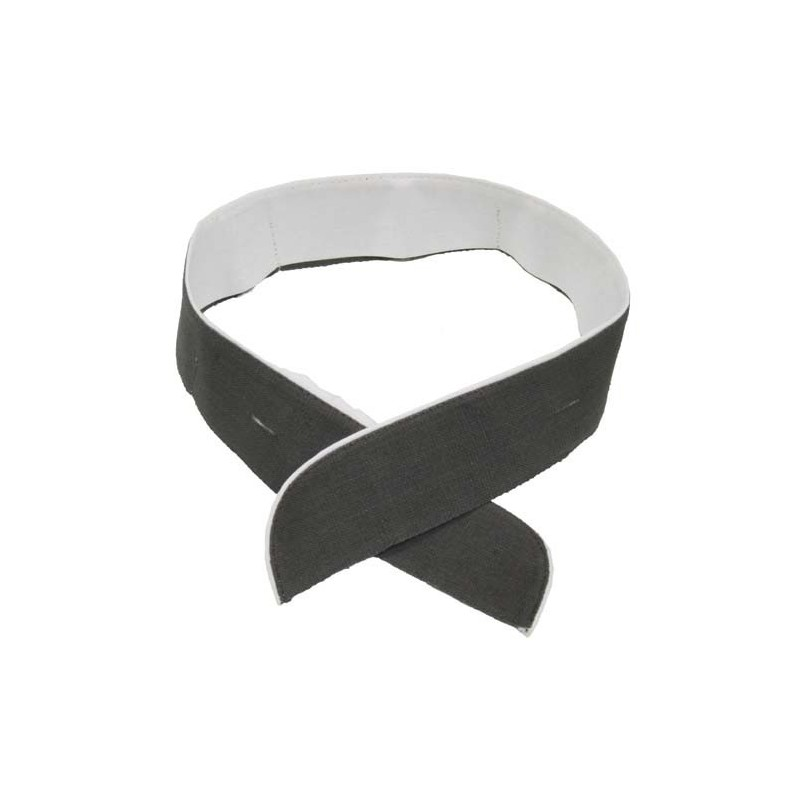 NVA collar tie, grey-white