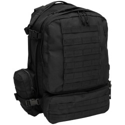 "IT Backpack ""Tactical-Modular"", black"