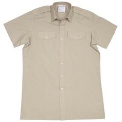 GB рубашка, хаки, с коротким рукавом