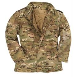 Стиль США M65 поле куртка с подкладкой, multitarn
