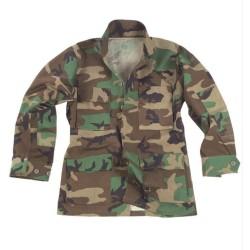 US BDU куртка, R / S, лесная