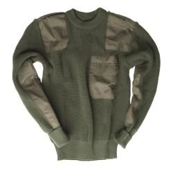 Немецкий BW Пуловер, оливково-зеленый