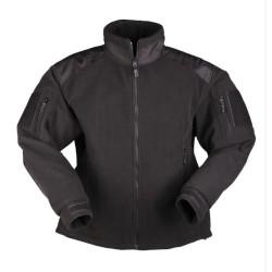 Mil-tec Delta флисовая куртка, черный