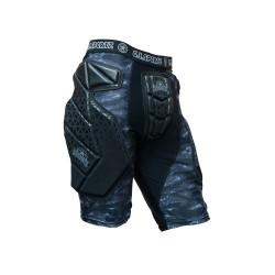GI Sportz Race Slide shorts, kaitsmetega püksid, must