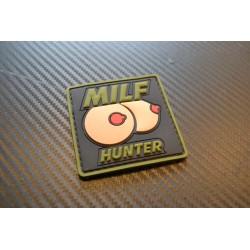 """Velcro sign, """"Milf Hunter"""""""