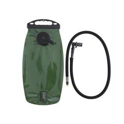 3L Hydration Reservoir Bladder with bite valve, black