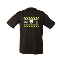 "T-shirt - ""Zombie Hunting Permit"", black"
