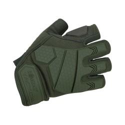 Kombat Alpha Тактические полуперчатки - оливково-зеленый