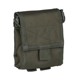 Tühjade salvede tasku, volditav, oliivroheline