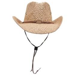 Соломенная шляпка, светло-коричневый, ремешок для подбородка