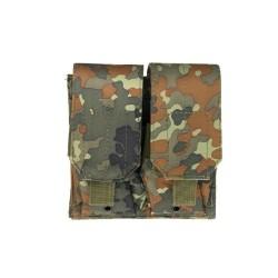 Двойной, M4 чехол для магазинов, flecktarn