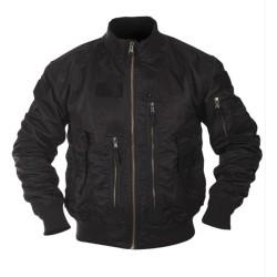 US Flight Jacket, Tactical, black