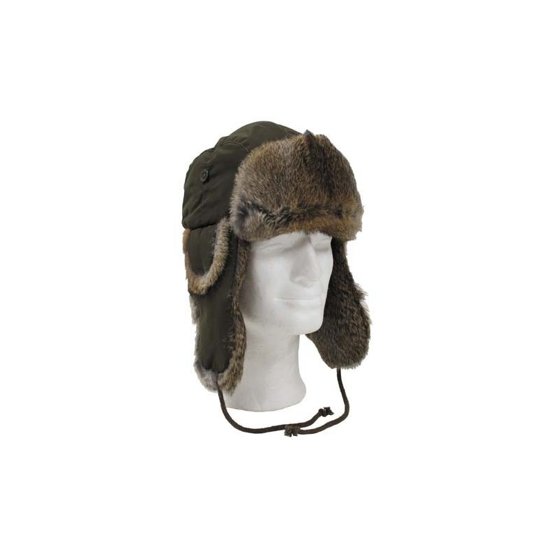 Karvane talvemüts, oliivroheline