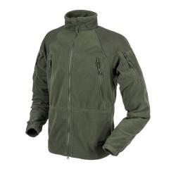 Helikon Куртка STRATUS® - тяжелый флис - Оливково-зеленый