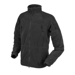 Helikon Куртка STRATUS® - тяжелый флис - черный
