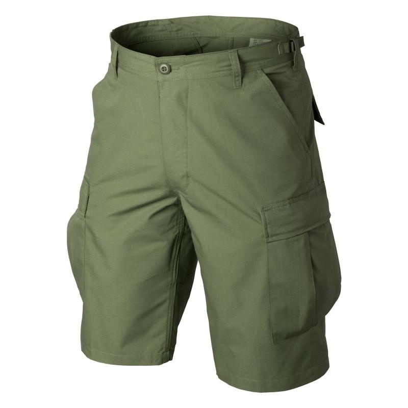 Helikon BDU Shorts - Cotton Ripstop - Olive green