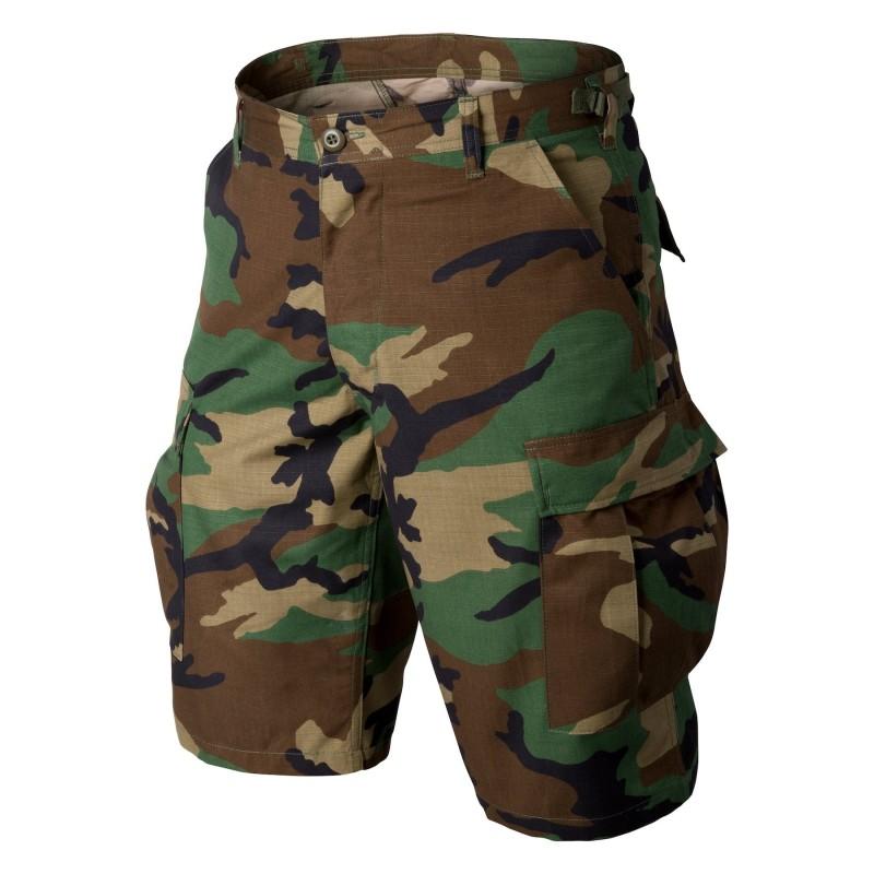 Helikon BDU Shorts - Cotton Ripstop - US Woodland