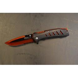 Kombat ellujäämise taskunuga, must/oranž