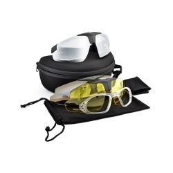 Phantom тактические очки с дополнительными объективами, набор, черный