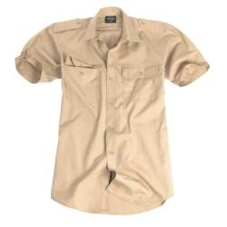 Mil-tec troopika särk, lühikese käisega, khaki