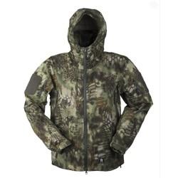 Mil-tec Hardshell jacket, Mandra wood