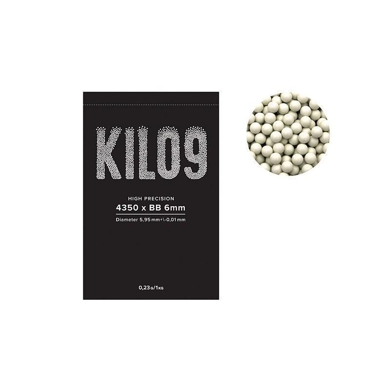 Kilo9 0,23g BB kuulid - 4350tk