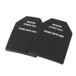 Training Plastic Dummy SAPI plate set, black