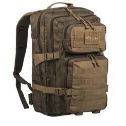 Ranger Backpack US Assault large 36L, coyote/green