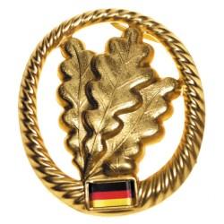 Metal Bundeswehr beret crest, Jäger
