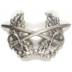 Metal Bundeswehr Peakedcap insignia, Heer