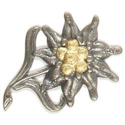 Metallist Bundeswehri bareti märk, Gebirgsjäger-edelweiss