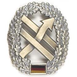 Metal Bundeswehr beret crest, PSV-Truppe