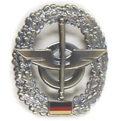 Metal Bundeswehr beret crest, Nachschub