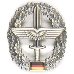 Metal Bundeswehr beret crest, Heeresflieger