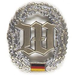 Metal Bundeswehr beret crest, Wachbataillon