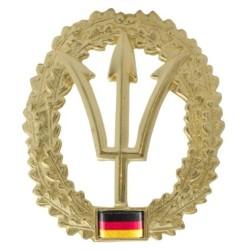 Metal Bundeswehr beret crest, KSM