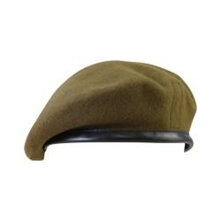 British army style beret, Khaki green