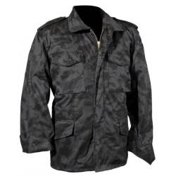 Стиль США M65 поле куртка с подкладкой, night camo