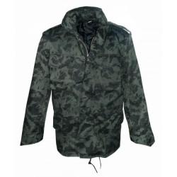 Стиль США M65 поле куртка с подкладкой, taiga camo