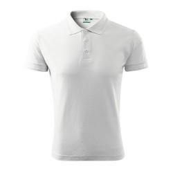 Adler Pique Polo shirt, white