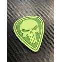 "Velcro märk ""Punisher"" 3D, oliivroheline"