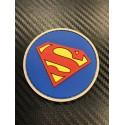 """Velcro märk """"Superman"""" 3D, sinine"""