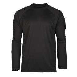 Tactical long sleeve quickdry shirt, black