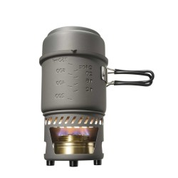 Esbit CookSet 985ml/470ml, anodized aluminium