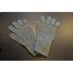 Швейцарские шерстяные перчатки, серый