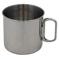 Кубок, нержавеющая сталь, складные ручки, 450 мл