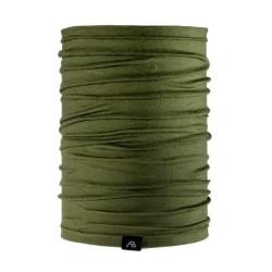 AB Merino wool neck warmer, olive green